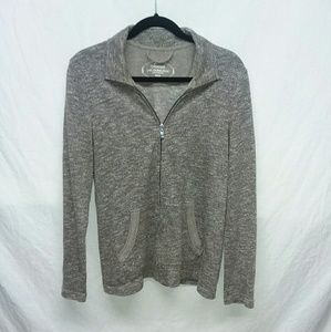 Soma Zip Up Sweater Size Med
